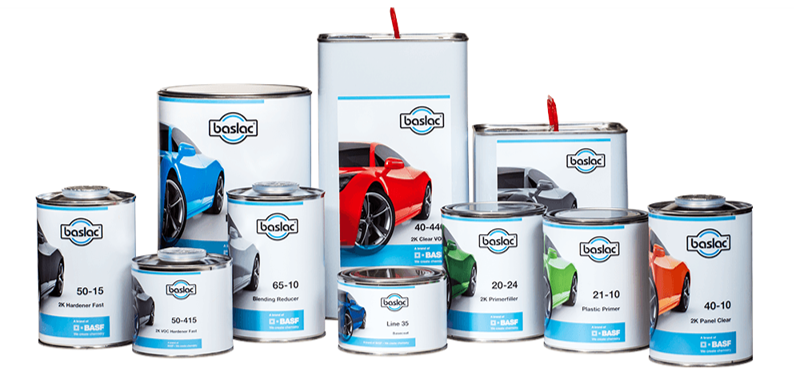 Baslac paint products brought to you by Fisher Motor Factors
